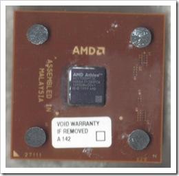 Amd (Braun) Athlon 1700+ mit Lüfter